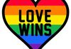 LOVE WINS GAY SPECIAL MAGNETS