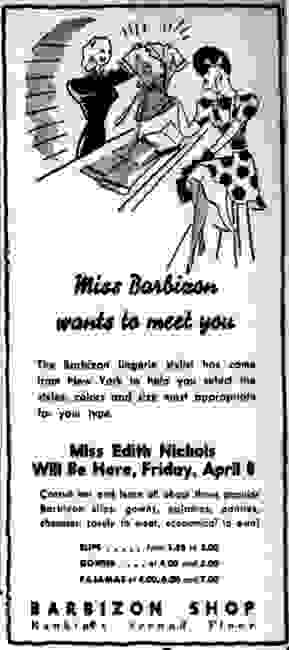 How to date Barbizon slips and petticoats.