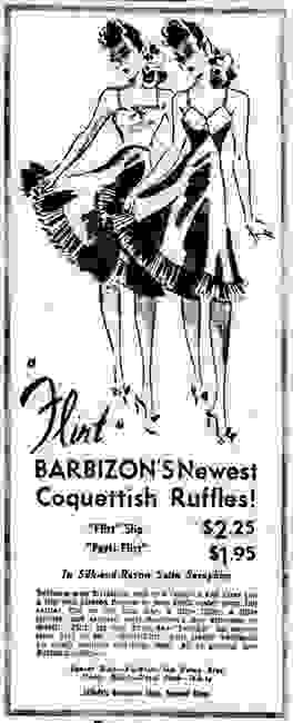 Collecting Barbizon slips and gowns.  How to identify vintage Barbizon lingerie.