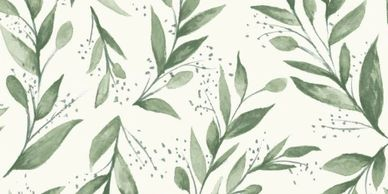 Magnolia Home by Joanna Gaines - Olive Branch Wallpaper