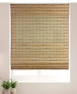 "Arlo Blinds Cordless Tuscan Bamboo Roman Shades Blinds - Size: 35"" W x 60"""