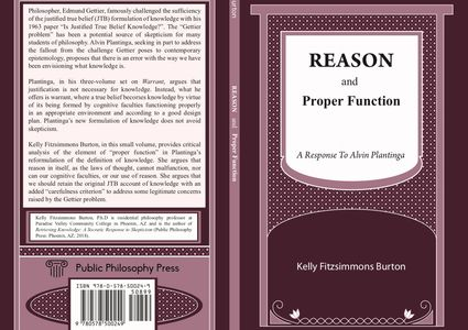 Cover for Reason and Proper Function