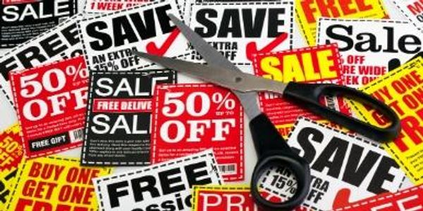 One of the service of email marketing - promoting discount coupons through email is shown i