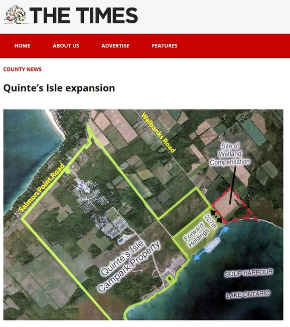 Quinte's Isle expansion