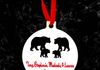 Personalized Bear Family Christmas Ornament ~$7.50