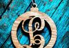Personalized Wooden Initial Christmas Ornament ~$6.00
