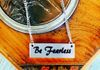 Be Fearless Bar Necklace ~$12.00