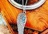 Angel Wing Necklace ~$10.00 Available in Blue, Crystal, and Pink