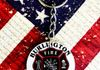 Personalized Fire Department Aluminum Key Chain ~$10.00