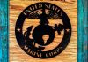 US Marine Wooden Sign- Two Piece ~ $40.00
