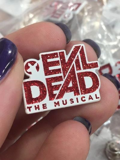 Evil Dead The Musical Enamel Pin