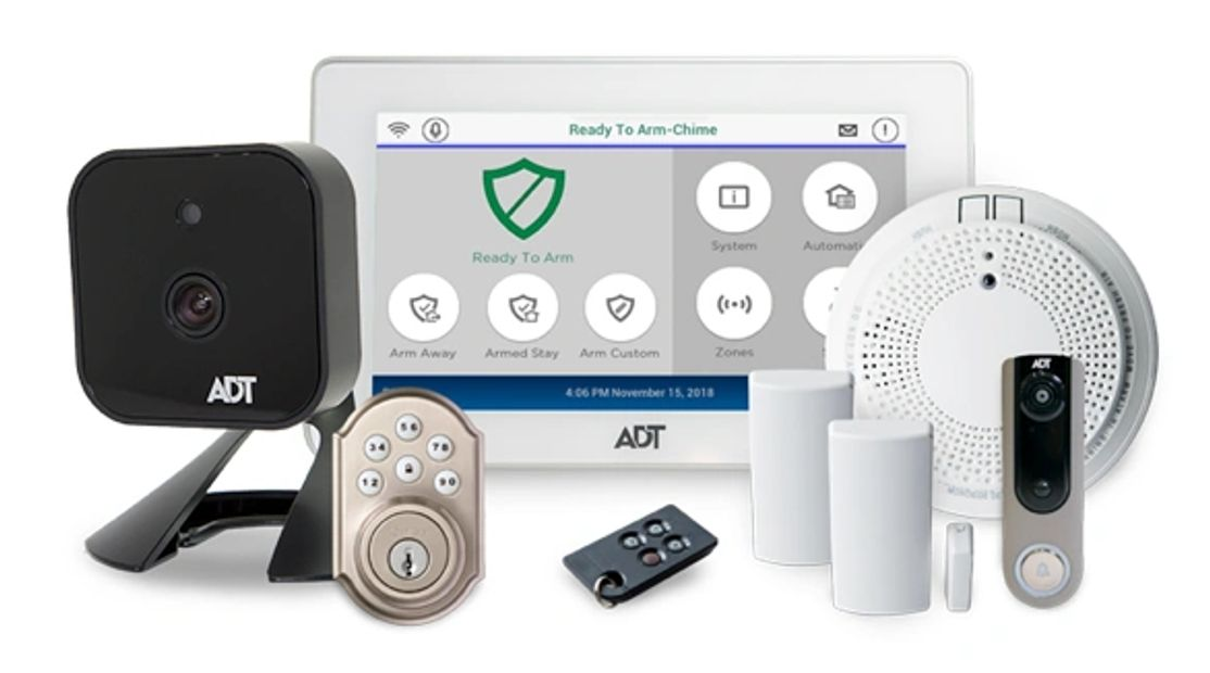 ADT Home Security Alarm Systems with Smart Home Automation
