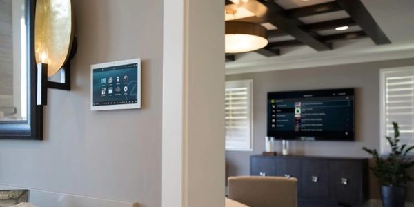 Control4 Smart Automation, Audio/Video and Home Theater for Custom Home