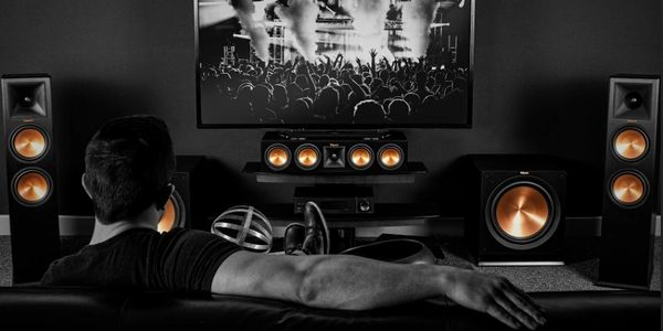 Klipsch Home Theater with Denon Home Theater Receiver