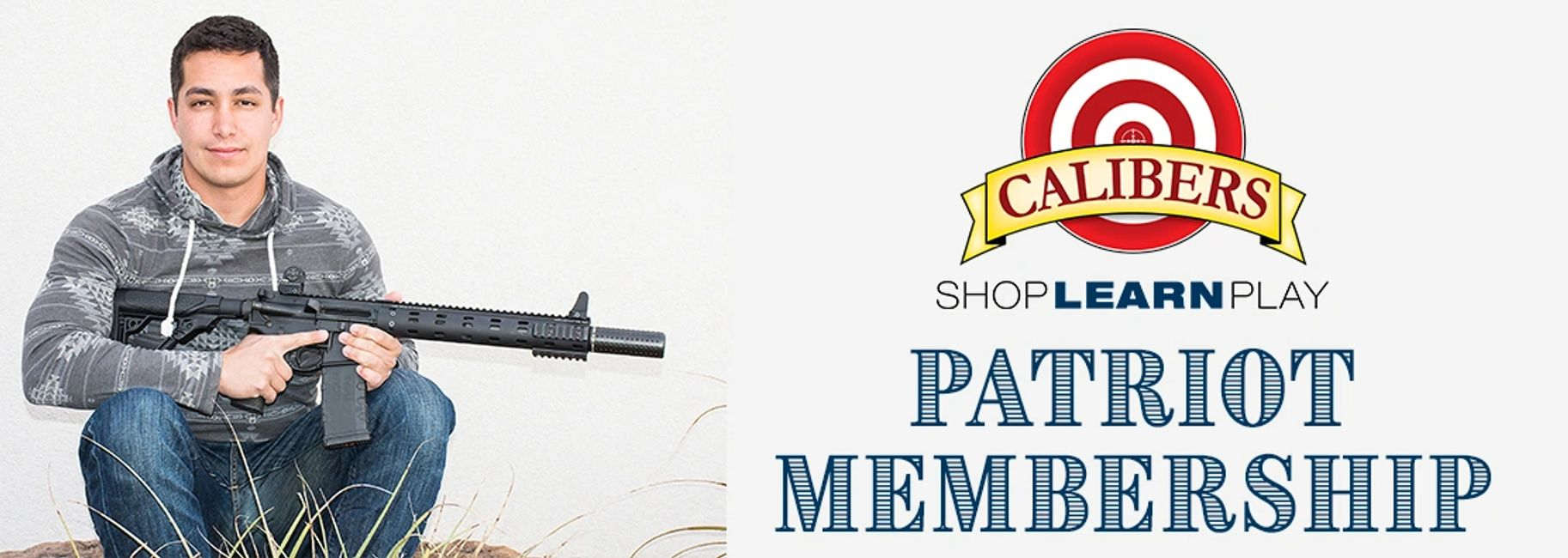 Calibers Patriot Membership is for active and retired law enforcement