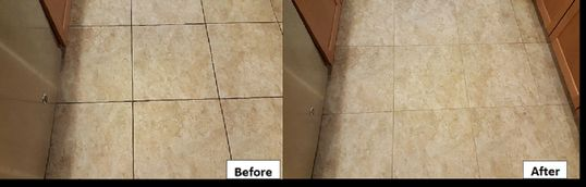 Tile cleaning, Clean grout, Clean tile, Tile transformation, Tile restoration, Before and After tile