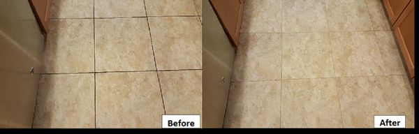 Tile cleaning, Clean grout, Clean tile, Tile transformation, Tile restoration, Before and After tile cleaning, Tile Cleaning Tampa, Tile Cleaning Riverview
