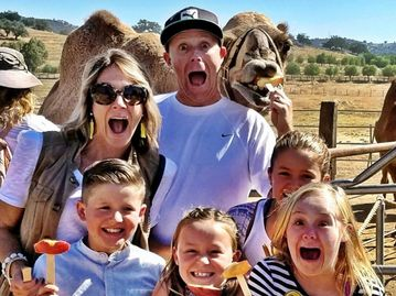 visit san diego and the Oasis Camel Dairy