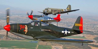 The Palm Springs Air Museum will be bring these three awesome WWII aircraft