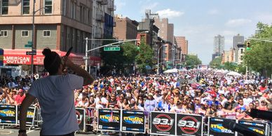Viper Studios supports the Dominican and Puerto Rican Day Parades with sound and mobile stages