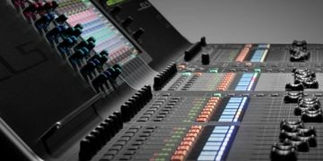 Yamaha CL5 Digital Console, RIO3224 Snake, 72 Microphone Channels, Duggan, Ruppert NEVE,