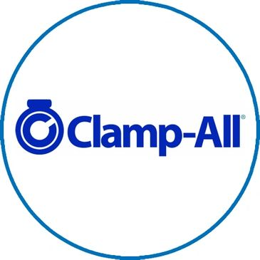 Clamp-All HI-TORQ couplings are the thickest, strongest, and the highest torque clamps in the world.