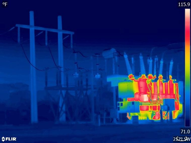 Infrared Substation Thermography by Look Thermography, Corp.