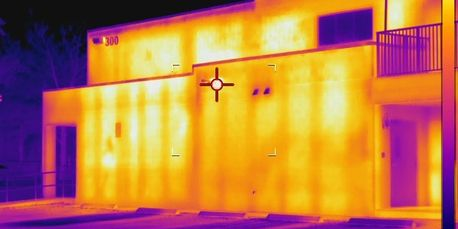 Infrared Commercial Building / Block Wall Thermography by Look Thermography, Corp.