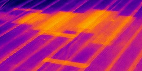 Commercial Infrared flat/low-slope roof inspection by Look Thermography, Corp.