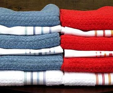 Striped Dish Towels from Portugal