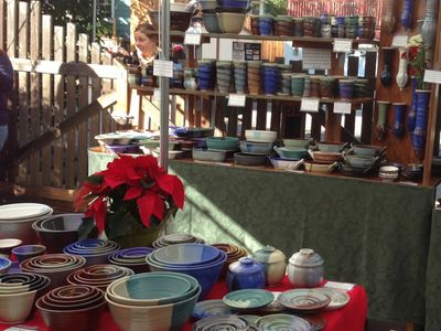 My Holiday Sale is a pottery and Food event!