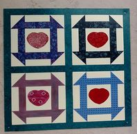 Quilt name: Joyce's Heart