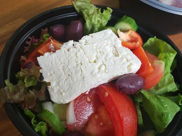 Greek Salad, TAke out, to go