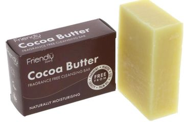 eco friendly soap cocoa facial cleansing