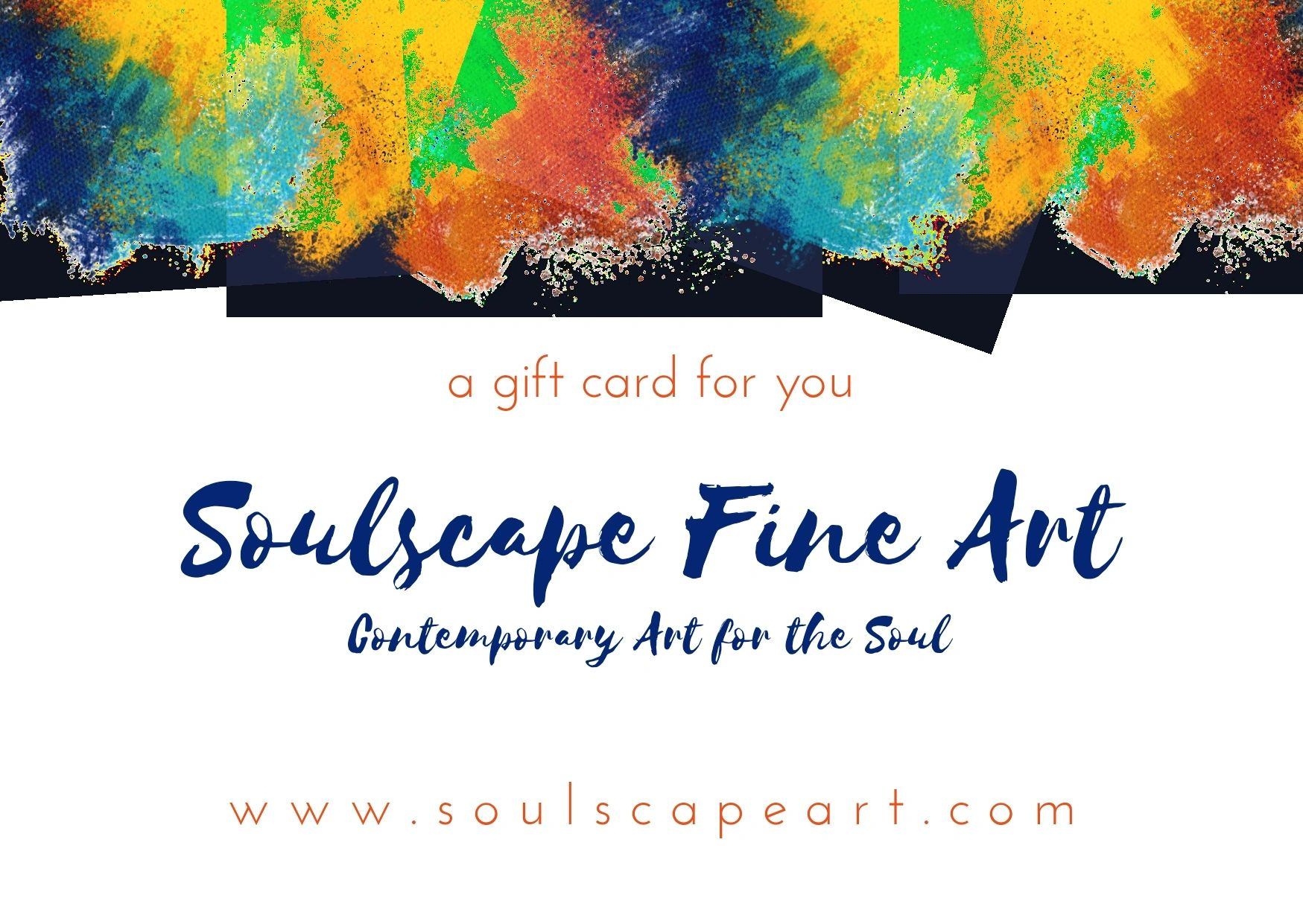 Soulscape Art Gift Cards