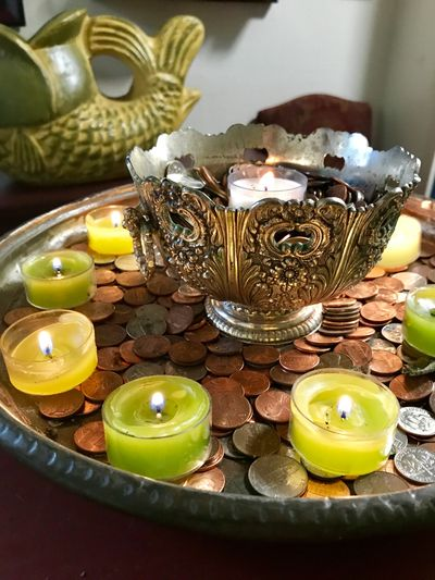 Wiccan Money Spell Altar