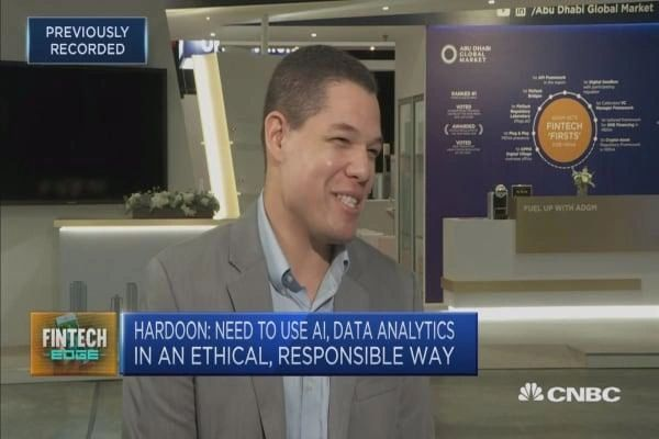 David Hardoon speaking to CNBC on Artificial Intelligence