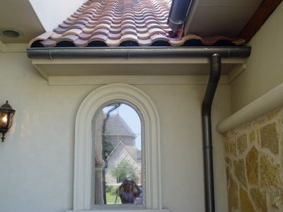 An example of our gutter installation services in Dallas, TX