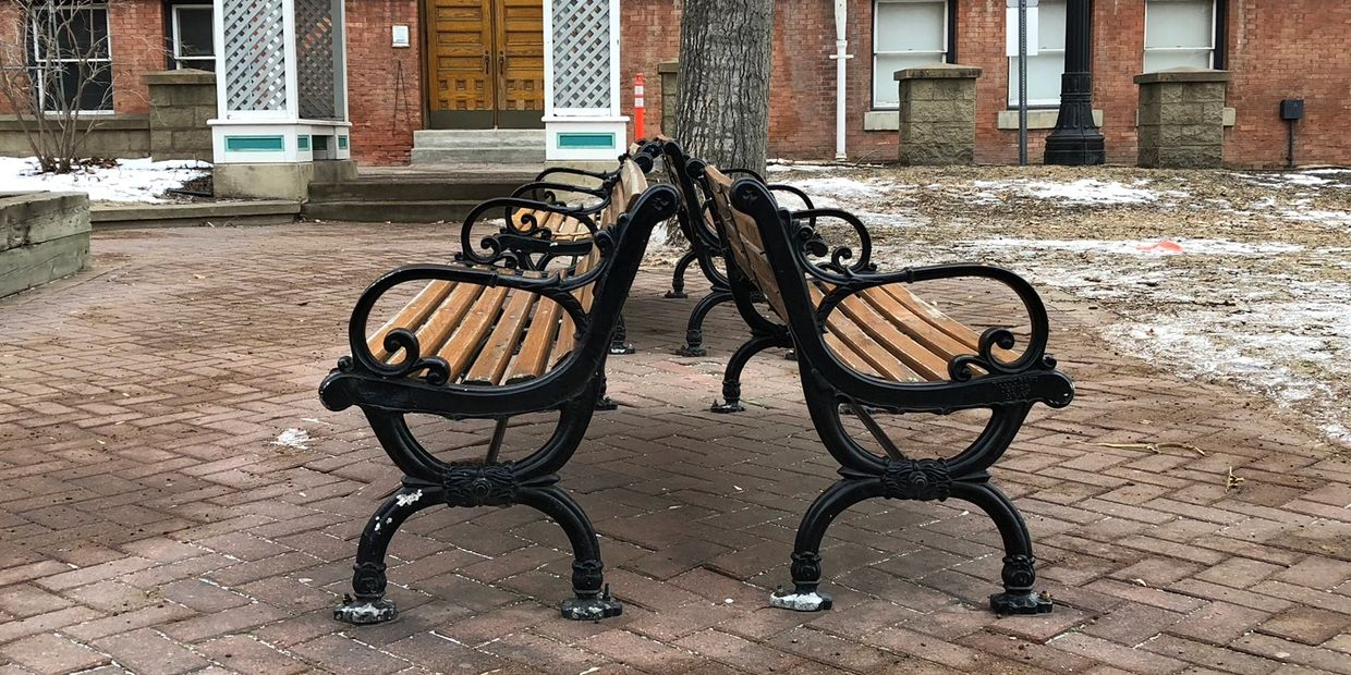 Heritage Park Bench
