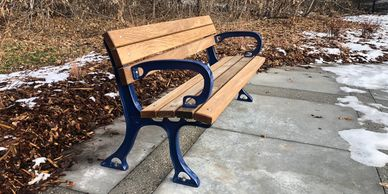 Parkway Park Bench