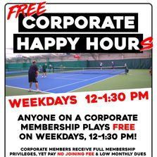 Free Corporate Member Happy Hours