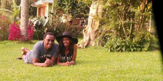 A couple enjoying their honeymoon at BSR