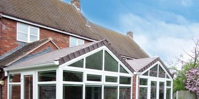 Guardian Roof system, conservatory conversion