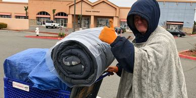The Clothes Closet provides free clothing, shoes, socks, jackets, personal care items.