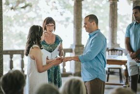 Bonnie was such a delight to have officiate our wedding. She worked with us to help make our ceremon