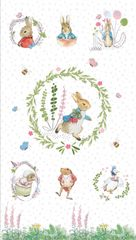 beatrix potter the craft cotton company frederick warne and company peter rabbit panel 2565-D6