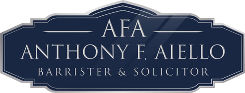 Anthony F. Aiello, Barrister & Solicitor