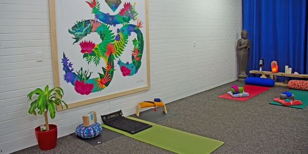 Botique Yoga studio providing classes, sessions and workshops on South Coast