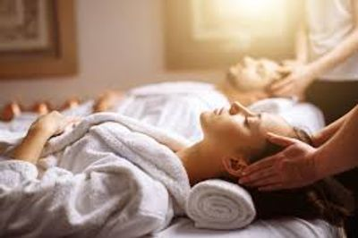 Massage Therapy Sound Bath with Singing Crystal Bowls