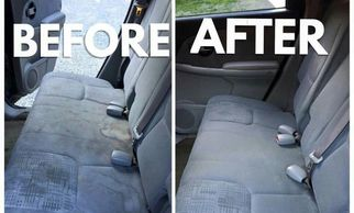 clean the interior of your vehicle